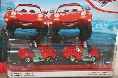 Disney Pixar Cars 3 2 Pack Waitress Mia Waitress Tia New In