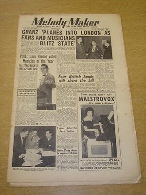 Melody Maker 1953 March 7 Norman Granz Jack Parnell Tito Burns Jimmy Young + Een Verrijkt En Voedingsstof Voor De Lever En De Nieren