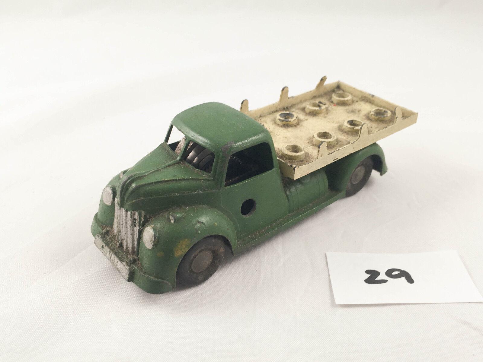 alto descuento Muy Rara Vintage Chad Valley Valley Valley Wee -... Kin   230 leche camión hojalata Clockwork Camión  a la venta