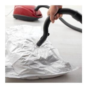 Ikea Hopen Guardaroba.Dettagli Su Ikea Hajdeby Sottovuoto Sacchetti Chiaro Vax Sigillato Guardaroba Bag New Mostra Il Titolo Originale