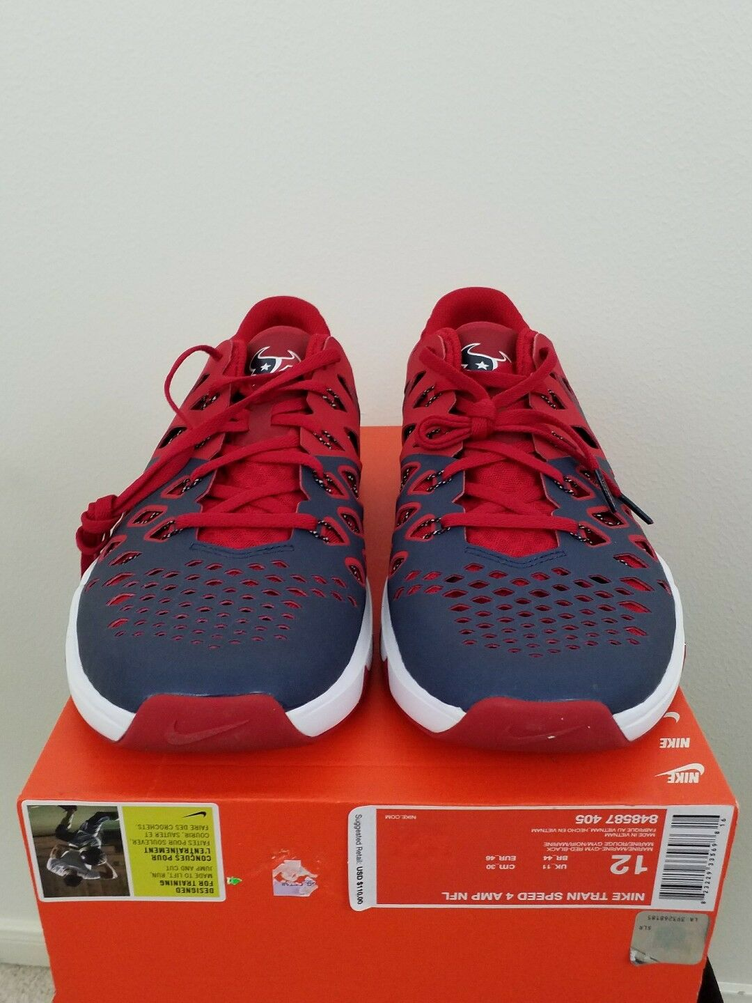 Houston 4 Texans Nike Train Speed 4 Houston homme chaussures e8a2f8