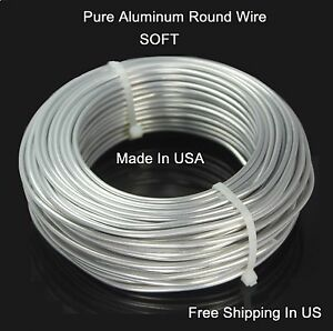 Aluminium Fil Rond (dead Soft) Pure Bright Aluminium Craft Wire-afficher Le Titre D'origine