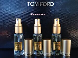 3 tom ford tobacco vanille oud wood tuscan leather 5ml. Black Bedroom Furniture Sets. Home Design Ideas