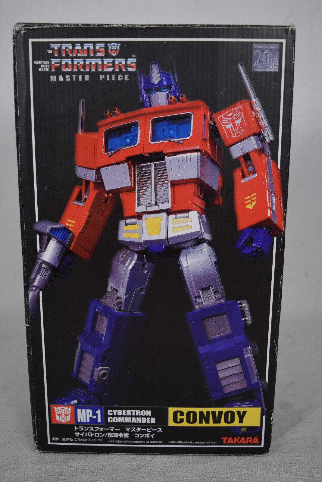 Transformers obra Mater MP-1 Cybertron comandante Convoy Optimus Prime