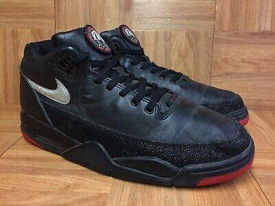 Nike Flight Squad Premium Black Leather