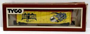Vintage-Tyco-368B-Brown-Box-Batman-DC-Comics-Boxcar-RTR-LNIB-1977-USA-Made
