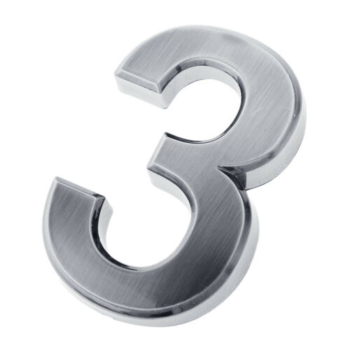 Plastic Mailbox Numbers Self-stick Number for Mailbox Door Apartment Hotel 3