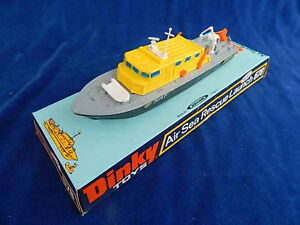 DINKY-TOYS-BATEAU-Boat-AIR-SEA-RESCUE-LAUNCH-678-MIB-TOP