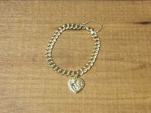 Image Is Loading James Avery 14k Gold Double Curb Charm Bracelet