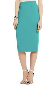 b1eea5f0c4 Image is loading New-ROLAND-MOURET-Arreton-Wool-Crepe-Sea-Green-