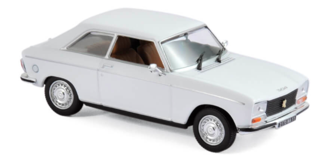 Peugeot 304 Coupe s Weiss 1969-1980 1//43 norev modelo coche con o sin individ
