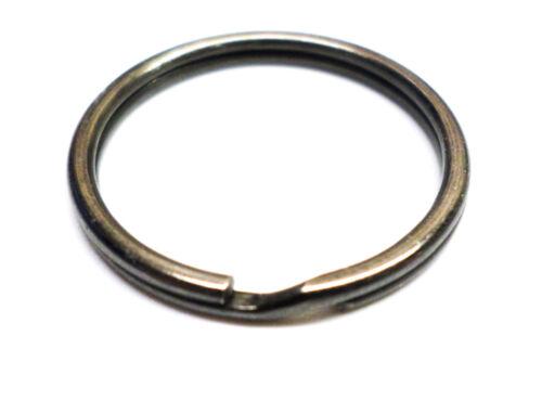 Schlüsselring 20 mm schwarz vernickelt Ring Ringe Keyring Schlüsselringe F000