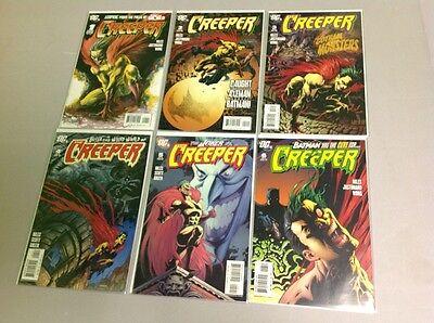 DC COMICS THE CREEPER #1 2 3 4 5 6 COMPLETE SET 2006 BATMAN MINI SERIES