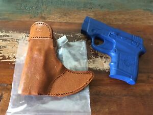 Details about Talon Brown Leather Pocket Holster For Smith & Wesson  Bodyguard w/ Insight Laser