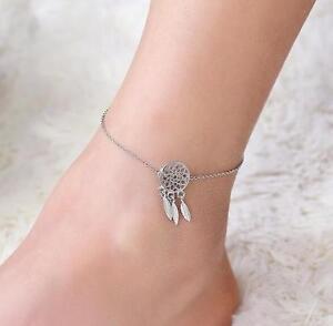 Indian Dream Catcher Feather Ankle Chain Anklet Bracelet. Symmetry Diamond. Precious Stone Emerald. Onyx Bands. Peacock Tanzanite. Real Silver Ankle Bracelets. Gold Single Bangle Designs. Blue Gemstone. New Bracelet