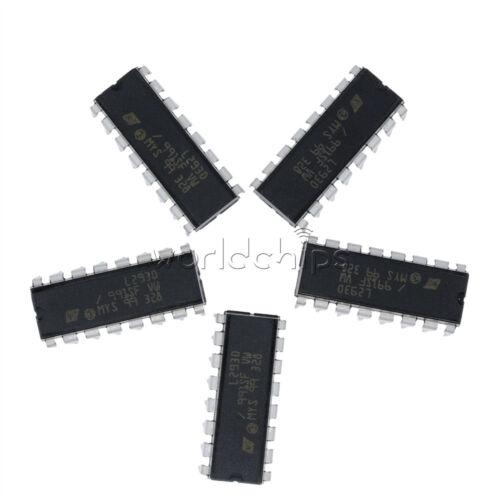 5Pcs L293D L293 L293B DIP//petite esquisse Paquet Push-pull quatre canaux Motor Driver IC