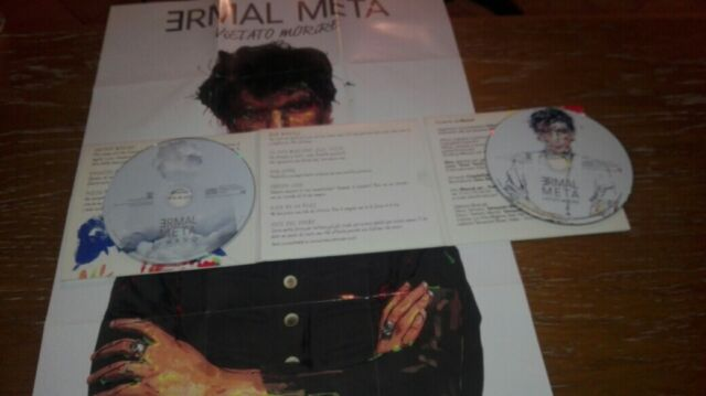 ERMAL META RARO 2 x CD anno 2017 Umano / Vietato Morire 1^ EDIZIONE MESCAL ELISA