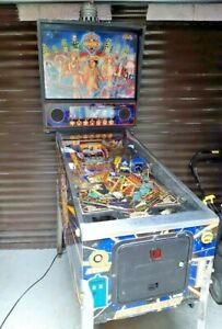 Doctor Who Pinball machine by Bally  Dr who