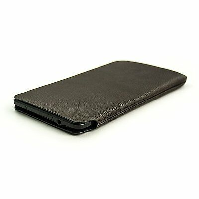 Synthetic Leather Ultra Slim Sleeve for Samsung Galaxy Note 4 by Dockem