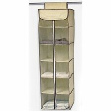 Ziz Home Hanging Organizers Hanging Clothes Storage Box (6 Shelving Units with -
