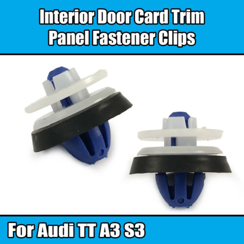 20x Clips For AUDI A3 S3 Interior Door Card Trim Panel Fasterner 8P0868243A