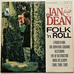 Jan Dean Folk N Roll 1965 Lp Ex Liberty Visual Sound