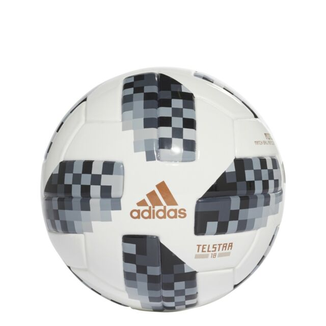 online retailer 96311 6dc67 Adidas World Cup Mini Soccer Ball 2018- Black (Model CE8139) ()