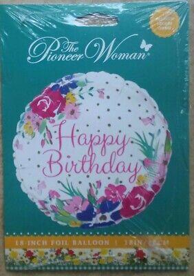 "Pioneer Woman 18"" Foil Birthday Balloon"