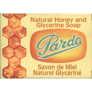 Pardo-Natural-Honey-amp-Glycerine-Soap-Bar-Skin-Moisturizer-Jabon-Glicerina-y-Miel
