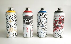 A set of value KEITH HARING Edition Spray Can Montana