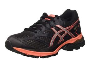 T6e7n Eu Zapatillas Goretex 42 de running Blackflash Coral para mujer 8 pulse Asics Uk Gel ZZ6waqP