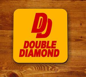 Double-Diamond-retro-039-Beermat-039-coaster