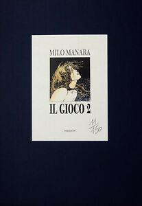 MANARA-PORTFOLIO-034-IL-GIOCO-2-034-NUMERATO-NON-FIRMATO