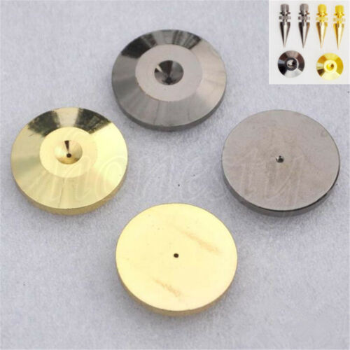 1//2//4X Speaker Cone Spike Isolation Stand Foot Base Pads Floor Discs 25mm*5mm
