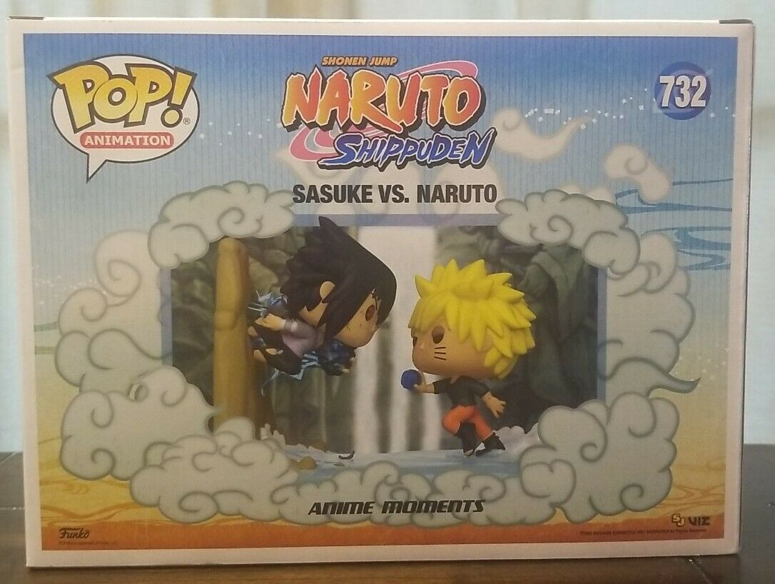 Moments Naruto Shippuden Naruto VS Sasuke GAMESTOP EXCLUSIVE FUNKO POP