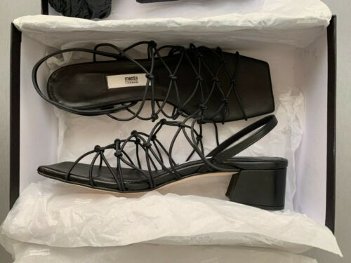 Miista London Women's Black Slingback Sandals Size