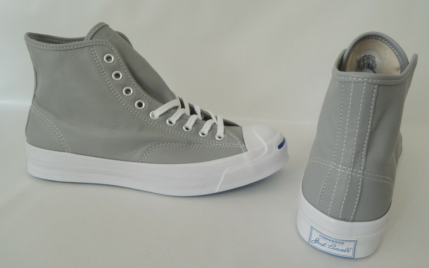 NEU Converse JP Signature Leather Hi 42 Chucks Schuhe Jack Purcell Sneaker GRAU