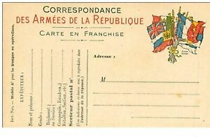 Militaire-n-1776-CARTE-Of-Correspondence-Of-Armies-Of-La-Republic