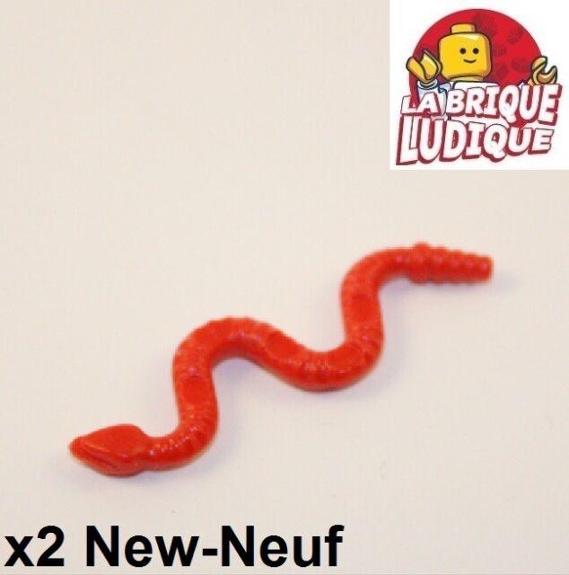 30115 Lego Animal 10 x Red Snake