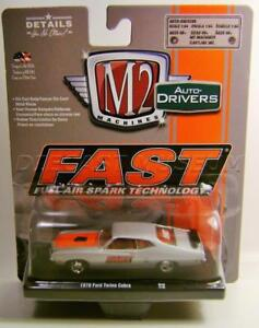 M2 MACHINES AUTO DRIVERS FAST 1970 FORD TORINO COBRA R48