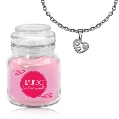 Schmuckkerze Duftkerze Halskette Anhänger Kette Damen Tumundo Fashion Candle