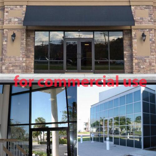 "Uncut Window Tint Roll 20/% VLT 10/"" 20 ft feet Home Commercial Visor Auto Film"