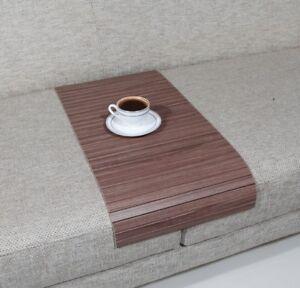 Image Is Loading Handmade Wood Sofa Tray Table Armrest Coffee