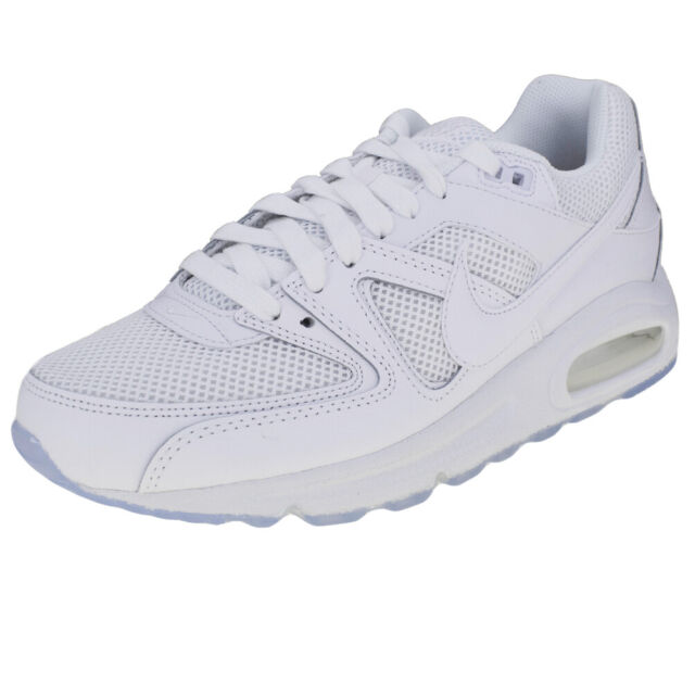 Nike Air Max Command Premium Men's Shoes Trainers White SNEAKERS 90 Skyline UK 7