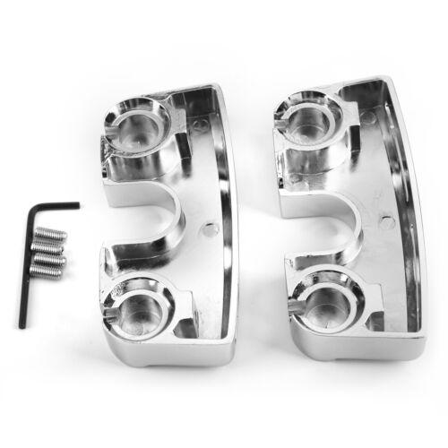 Chrome spark plug boulon à tête couvre pour Dyna Softail Twin Cam 99-17 Modèle
