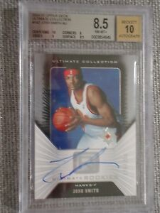 04-05-UD-Ultimate-Collection-Josh-Smith-NBA-RC-AUTO-175-250-BGS-8-5-Auto-10