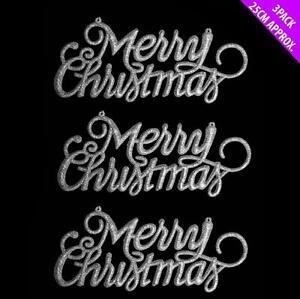 1 X Joyeux Noël Suspension Porte Noël Arbre De Noel Décoration-afficher Le Titre D'origine Cool En éTé Et Chaud En Hiver