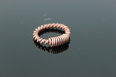 Tensor Finger Ring Double Wrapped with Coil Sacred Cubit 144mhz Orgone    eBay