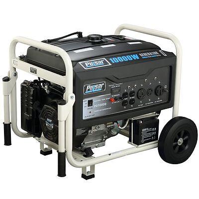 Pulsar Gas 10000W Generator Rated 8000W PG10000