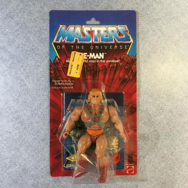 Masters of the Universe He Man Original MOTU Vintage 1981 HE MAN 8 Back MOC